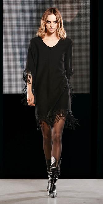 Jijil Collection Fringe Dress
