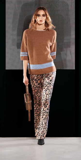 Jijil Collection Leopard Print Pant
