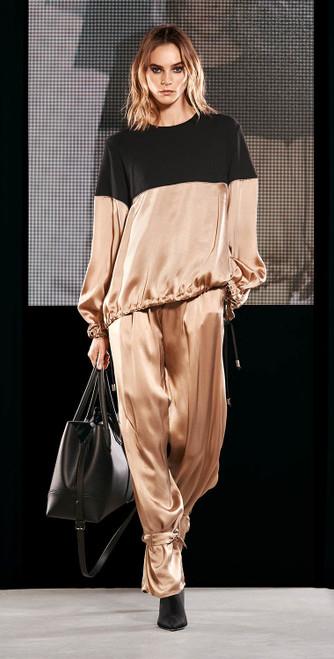 Jijil Collection Cognac Trousers