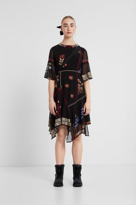 Boho Asymmetric Dress
