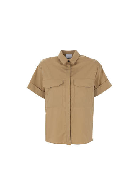 Jijil Collection Short Sleeve Button Down Shirt