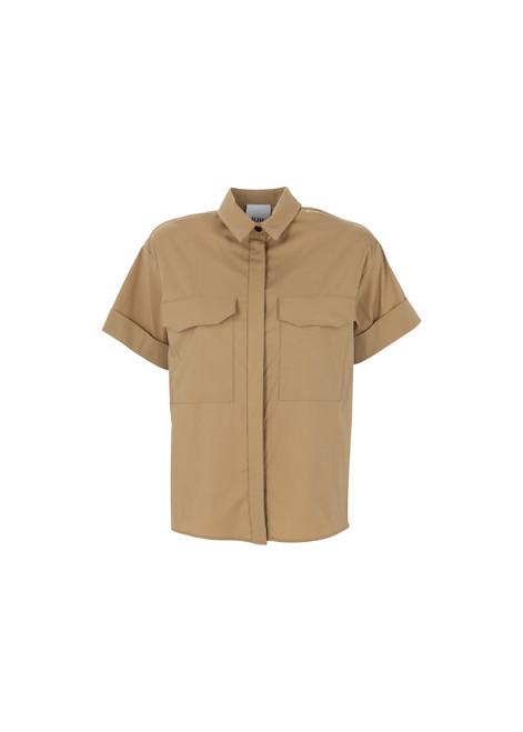 Jijil Collection Short Sleeve Button Down Shirt