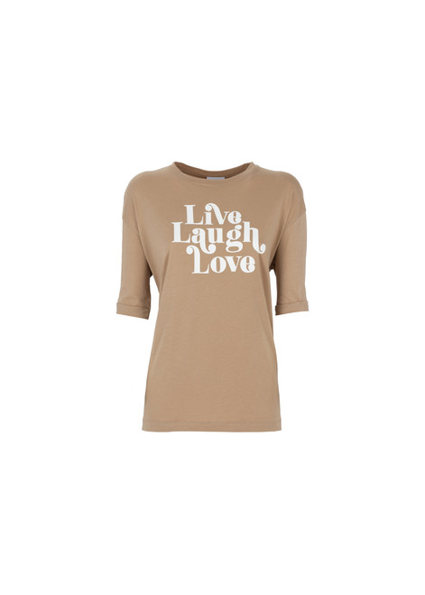 Jijil Collection 'Live Laugh Love' T-Shirt