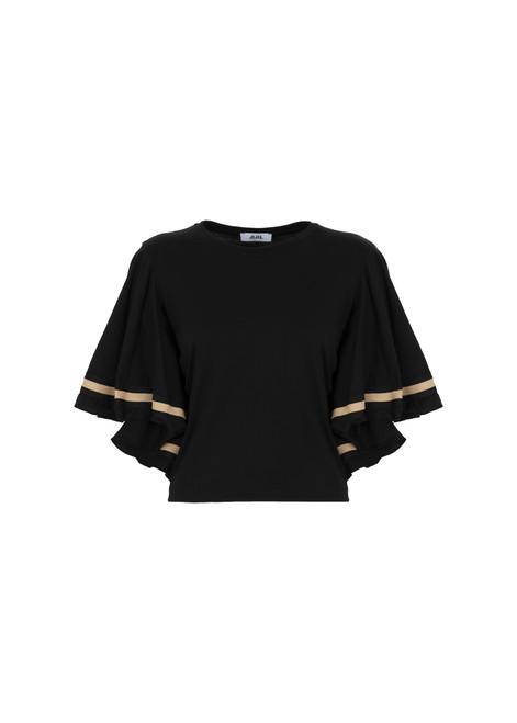 Jijil Collection Flutter Sleeve T-Shirt