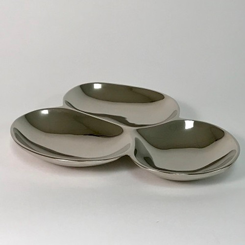 3-SECTION Serving PLATE