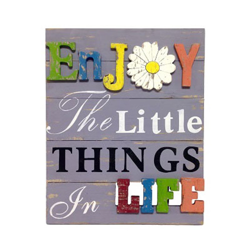 Little Things... 3-D Wood Plaque