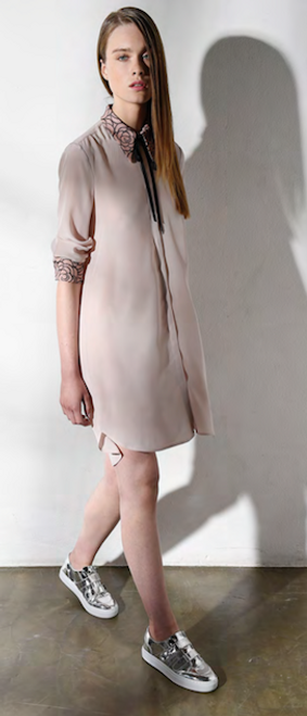 Feeling Fine Shirt Dress