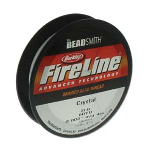 FireLine Beading Thread Crystal, 2 lb 50YD (45 metres)