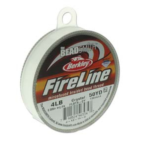 FireLine Beading Thread Crystal, 4 lb 50YD (45 metres)