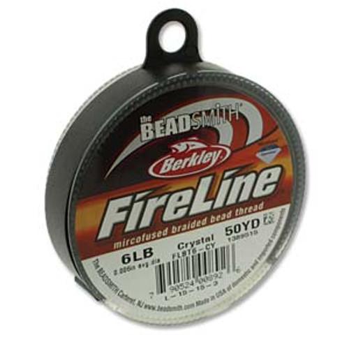FireLine Beading Thread Crystal, 6 lb 50YD (45 metres)