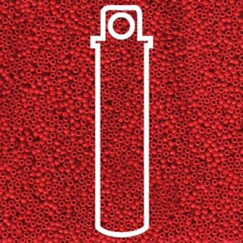 Miyuki Seed Beads 15-9408 Opaque Red 8.2 grams