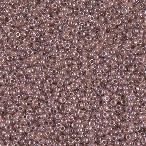 Miyuki Seed Beads 15-9224 Cocoa Lined Crystal 8.2 grams