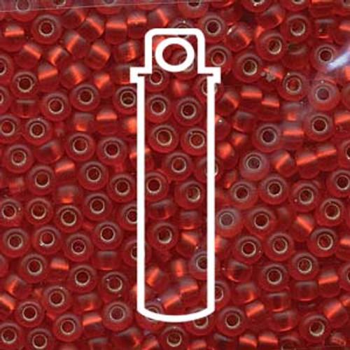 Miyuki Seed Beads Size 6/0 6-910F Matte Flame Red 20 grams