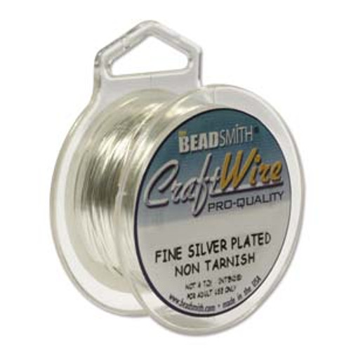BeadSmith Craft Wire, Tarnish Resistant Silver