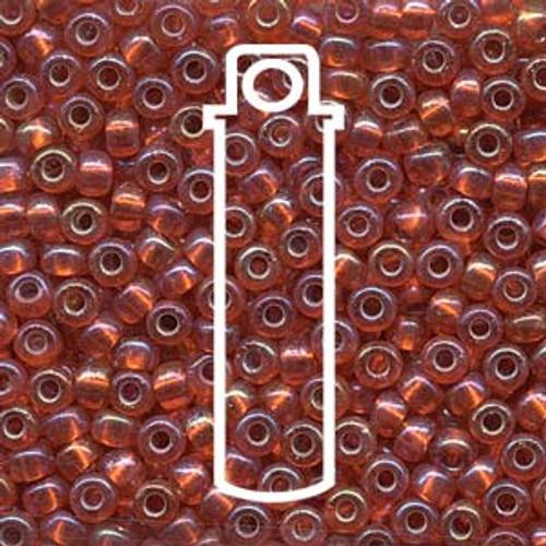 Miyuki Seed Beads Size 6/0 6-91008 Silver Lined Orange AB 20 grams