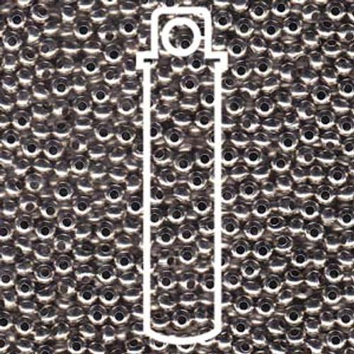 Metal Seed Beads 6/0 Nickel Plated Brass 31 grams
