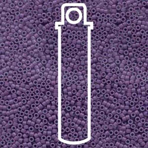 Miyuki Delica Beads 11/0 DB660 Opaque Lavender 7.2grams