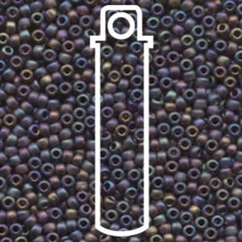 Miyuki Seed Beads 8-9135FR Matte Trans Rootbeer AB 22 grams