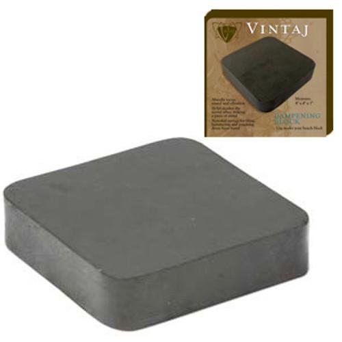 """Vintaj Rubber Dampening Block 4""""x4""""x1"""""""