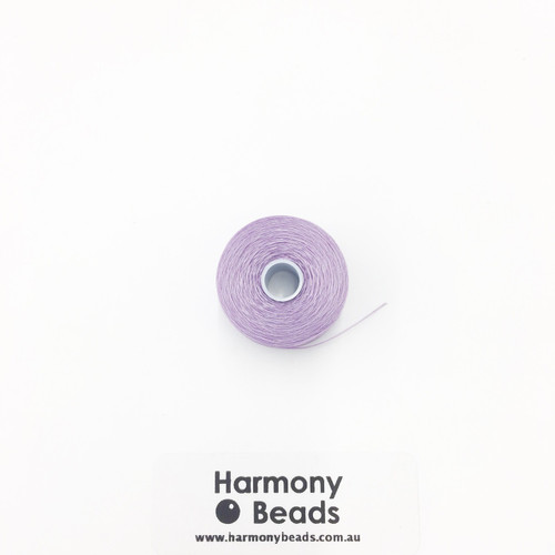 S-Lon (Nymo) Bead Cord, Orchid, Size D, (78 yards/71 metres)