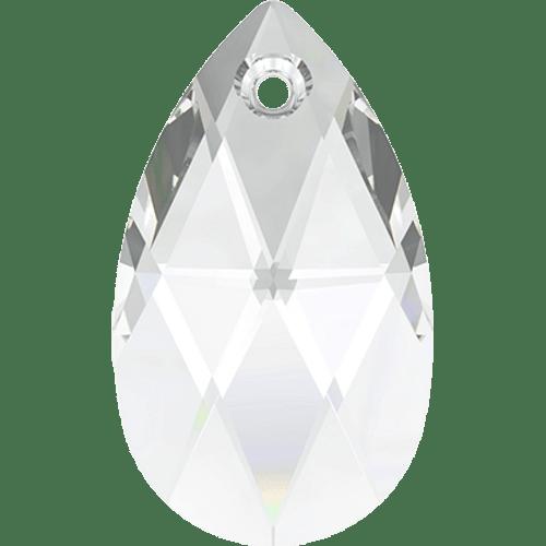 Swarovski 6106 Pear Drop / Tear Drop Shaped Pendant, Crystal 16mm [2 pcs]