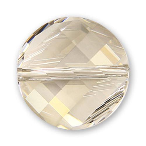 Swarovski 5621 Twist Bead, Crystal Silver Shade 22mm [1 pc]