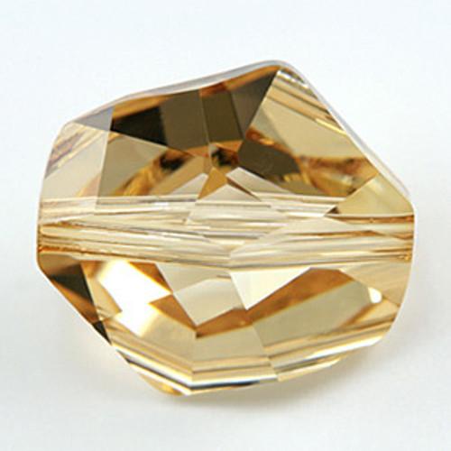 Swarovski 5523 Cosmic Bead, Crystal Golden Shadow 12mm [2 pcs]
