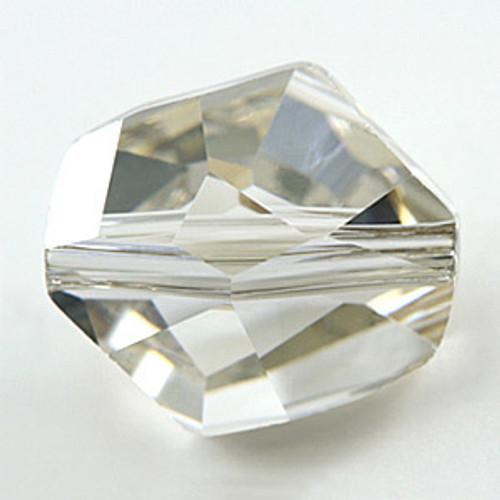 Swarovski 5523 Cosmic Bead, Crystal Silver Shade 12mm [2 pcs]