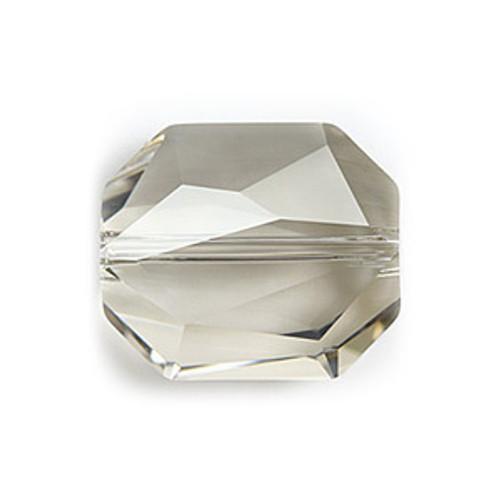 Swarovski 5520 Graphic Bead, 12mm, Crystal Silver Shade [2 pcs]