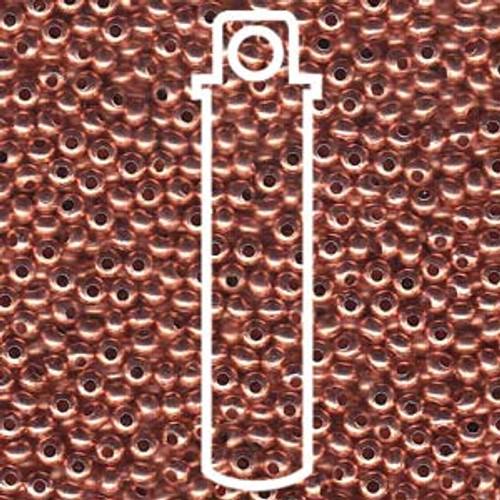 Metal Seed Beads 8/0 Copper (COP) 38 grams