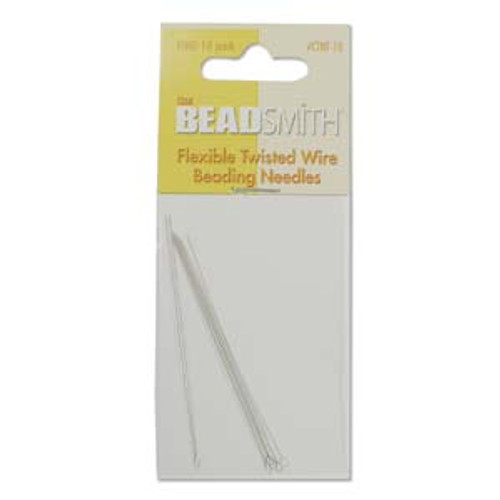 Flexible Twisted Wire Needles, Fine [10 pcs]