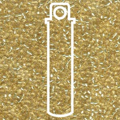 Miyuki Seed Beads 11-92 Silver Lined Pale Gold 23 grams