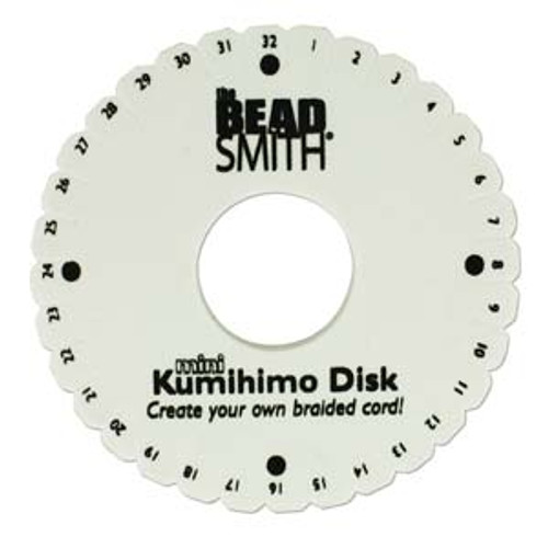 "Kumihimo Disk Mini - 4.25"" inch 35mm Hole Diameter"