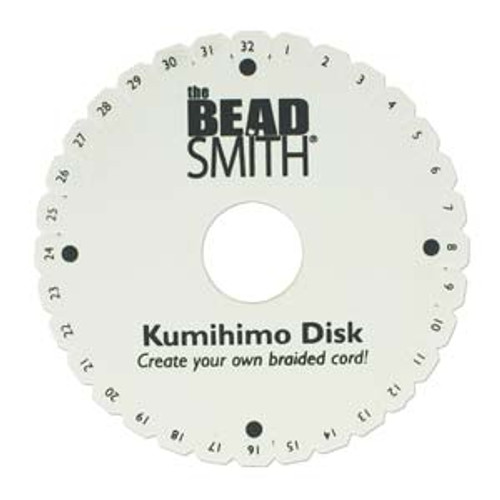 "Kumihimo Disk - 6"" inch 35mm Hole Diameter"