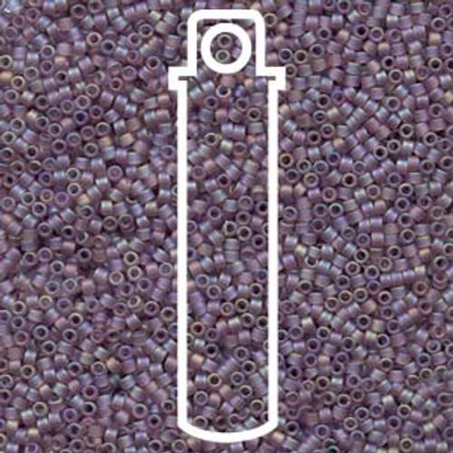 Miyuki Delica Beads 11/0 DB857 Matte Smoky Amethyst AB 7.2grams