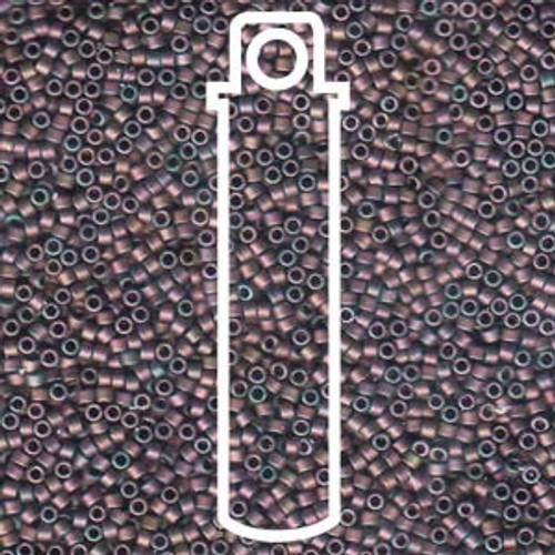 Miyuki Delica Beads 11/0 DB1056 Matte Metallic Rose Gold Iris 7.2grams
