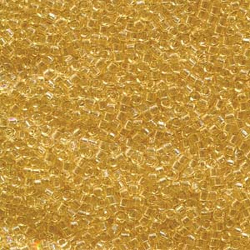 Miyuki Delica Beads 11/0 DB1112 Trans Crystal Ivory 7.2grams