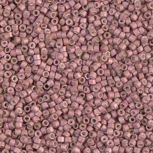 Miyuki Delica Beads 11/0 DB1166 Galvanised Matte Pink Blush 7.2grams