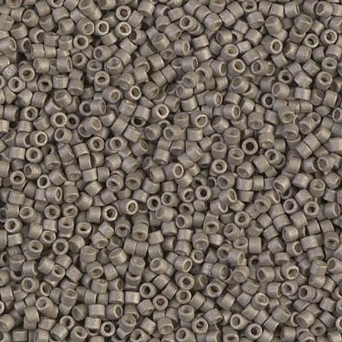 Miyuki Delica Beads 11/0 DB1169 Galvanised Matte Pewter 7.2grams