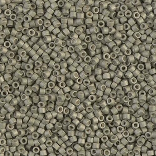 Miyuki Delica Beads 11/0 DB1170 Galvanised Matte Aloe 7.2 grams