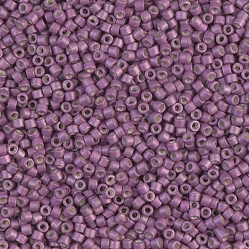 Miyuki Delica Beads 11/0 DB1173 Galvanised Matte Magenta 7.2 grams