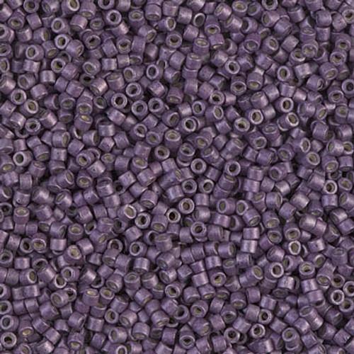 Miyuki Delica Beads 11/0 DB1174 Galvanised Matte Eggplant 7.2 grams