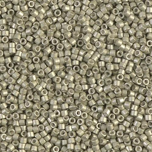 Miyuki Delica Beads 11/0 DB1181 Galvanised SF Aloe 7.2 grams