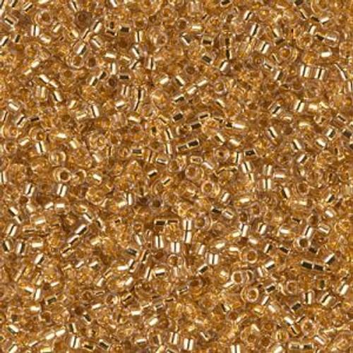 Miyuki Delica Beads 11/0 DB033 Lined Gold 24K 7.2grams