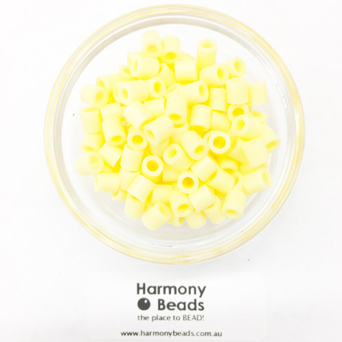 Fuze Beads Iron-Fuse Melt Plastic Beads 5mm CHAMPAGNE YELLOW