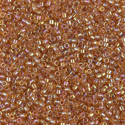 Miyuki Delica Beads 11/0 DB1241 Trans Marigold AB 7.2 grams