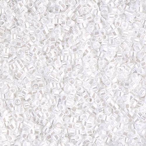 Miyuki Delica Beads 11/0 DB201 White Pearl 6.8grams