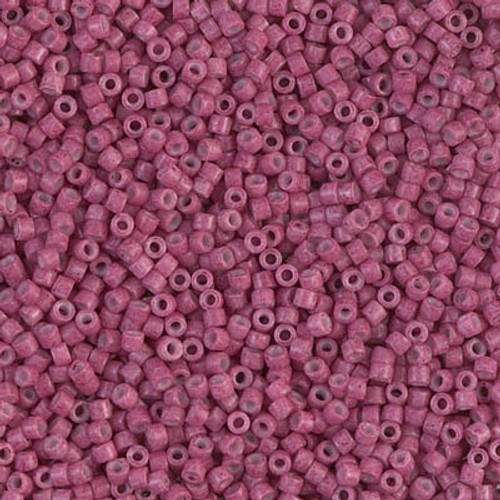 Miyuki Delica Beads 11/0 DB1376 Dyed Opaque Wine 7.2 grams