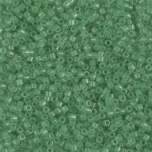 Miyuki Delica Beads 11/0 DB1414 Trans Mint 7.2 grams