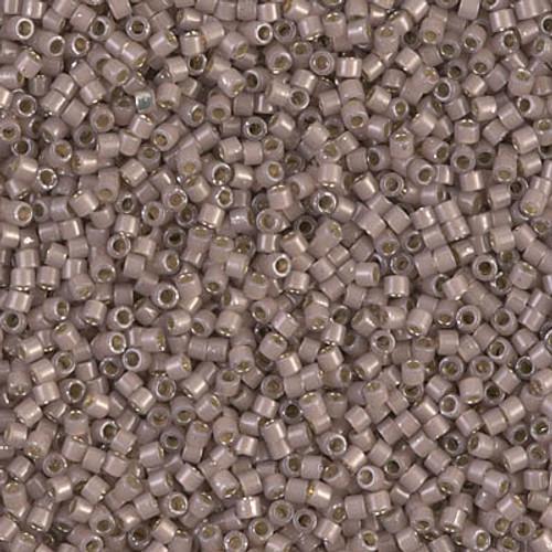 Miyuki Delica Beads 11/0 DB1460 Silver Lined Cinnamon Opal 7.2 grams